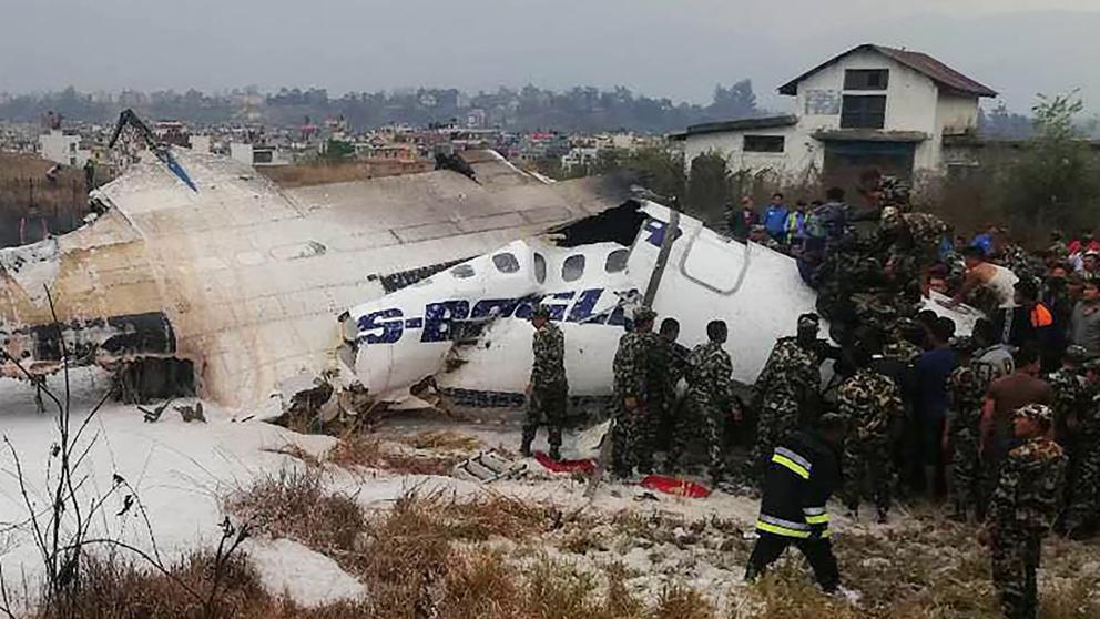 se-estrello-un-avion-de-pasajeros-en-nepal-hay-al-menos-50-muertos