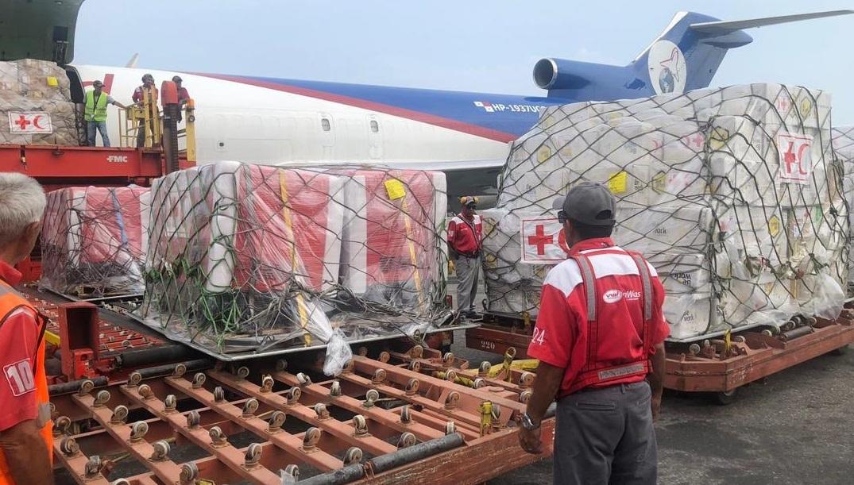 llego-el-primer-cargamento-con-ayuda-humanitaria-a-venezuela